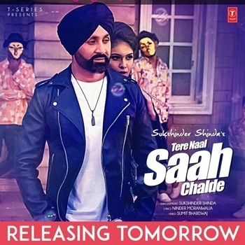 """Good Evening with Good News .. My New Song with @sukshindershinda """"TERE NAAL SAAH CHALDE """" Is Releasing Tomorrow 💃💃💃💃 So Stay Tuned and i Hope you will love it 😍😍 : #newsong #punjabisong #punjabi #song #tseries #tseriesmusic #upcomingsong #sukshindershinda #punjabirocks #releasing #tomorrow #staytuned #youtube #musicchannel #pollywood #punjabimusic #video #nehamalik #model #actor #blogger"""