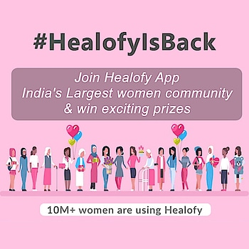 #HealofyisBack  Join me on Healofy App, Indias #1 Women Social Network with 10million women.  Download App from Playstore & win Hyundai i20! Install App: http://healofy.com/app  Install app: https://healofy.com/app  To participate in #HealofyIsBack campaign, click healofy.com/influencer or DM @healofyapp on Insta