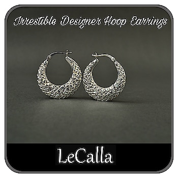 Irresistible Designer Silver Jewellery, DM for more details.  #LeCalla #silver #HoopEarrings #accesories #elegant #fashionwear #roposo #roposolove #instalove #instajewellery #instagood #personalizedgifts #photooftheday #silverjewelry #intrend #trendyjewelry #womensfashion #fashionista #dailylook #musthave #girlsjewelry #newstyle #dmfordetails #hoopearrings #earaccessories #buynow #giftideas #getfreegift #offerprice #earaccessories