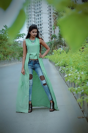 Loving my look in this trendy side pleated top with panels✅🌿 @houseofanami  Curated this look in this trendy side pleated top with panels and with my most favourite jeans brand @dealjeans 👖  #thesnazzydiva #houseofanami #anamiclothing #plixxoblogger #galleri5influenstar #bnbmag #green #summerwear #summerdress #ss18 #ss18collection #pleatedtop #picoftheday #outfitoftheday #photography #instastyle #looks #portraitphotography #nmrk #instalike #instalove #photoshoot #fashionstatement #designerwear #classyoutfit #sale #greatstyle #mumbaifashionblogger #dealjeans #grattitute #thesnazzydiva #houseofanami #anamiclothing #plixxoblogger #galleri5influenstar #bnbmag #neongreen #summerwear #summerdress #ss18 #ss18collection #shortdress #picoftheday #outfitoftheday #photography #instastyle #looks #portraitphotography #nmrk #mua #instalike #instalove #fashionstatement #designerwear #classyoutfit #sale #onlineshopping   #thesnazzydiva #galleri5influenstar #plixxoblogger #clovia #cloviafashions #beachwear #beachlife #mumbaifashionblogger #fashion #style #summer #summerfeeling #summertime #ss18 #photography #photographyofindia #lovebeach #climate #weather #stylegram #fashiongram #portraitphotography #bnbmag #kaftanlook #kaftan #kaftanstyle#designerwear #classy  #picoftheday #photography #photooftheday #portrait_ig #mumbaifashionblogger #portraitphotography #stylegram #stylestatement #fashiongram #stylegram #designershoot #style #fashion #galleri5influenstar #plixxoblogger #plixxo #bnbmag #green #grattitute #nmrk #cooldesign #coolcollection #classyoutfit #designeroutfit #designercollection#thesnazzydiva #bridalinspo #bnbmag #celebritywear #photography #catalogshoot #indianwear #mumbaifashionblogger #galleri5influenstar #plixxoblogger #maharanicouture #brands #indianbrands #fashionblogger #stylestatement #portraitphotography #portraitmode #catalogshoot #lovemakeup #indianstyle #fashiongram #stylegram #ethinicwear #indianfashion #bridalfashion #kurta #longkurti #indianlovers plixxoinfl
