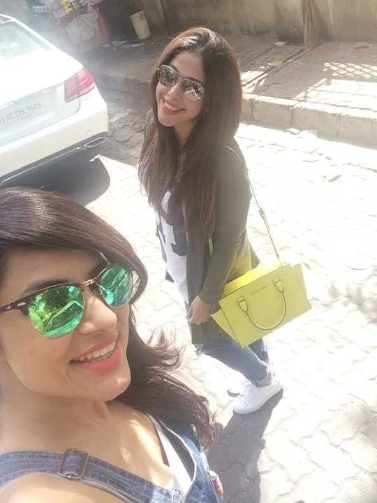 A day out with my bestie Aditi malik