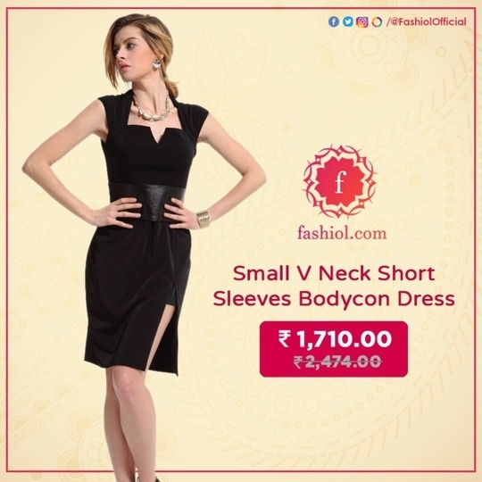 Shop this pretty dress from your favourite online fashion store www.fashiol.com. To order this dress click on the link 👉🏻 http://bit.ly/2izxiFz  #Fashiol #OnlineStore #ShopOnline