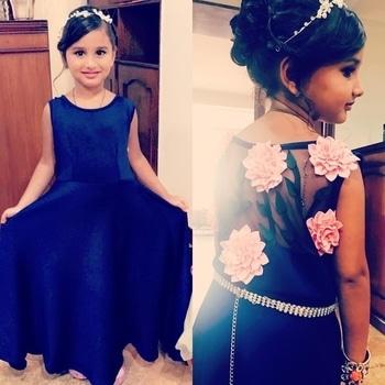 This little princess makes our heart skip a beat. Looking gorgeous in her customised gown! 👸🏻 #beautifulgirls #diva #princess #kidslove #kidswear #kidsfashion #kidscollection #littlebaby #littlegirl #littleangels #littlefashionistas #littleones #gown #navy #pink #floral #instakids #instadaily #princessdress #fashion #fashionistas #fashionlover #styleinspo #stylegram #cutekids #cutesy #trending #shopnow #riddhiandrevika