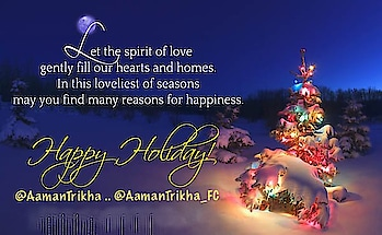   Merry Merry Christmas and A Very Happy Holidays to all of you from our #RockStar @AamanTrikha and Us 🎉🎊❄️☃️ #MerryChristmas2018 🎉#HappyHolidays ❄️ #ChristmasEve ☃️ #AamanTrikha 🧔🏻 #ProudOfYouRockStar 🙌🏻 #AamanTrikha 🎙 You are our pride and will always be 🙌🏻 #AamanTrikhaMusic 🎼 #LoadsOfLove 💝 #Pride #AamanMusic #AamanTrikhaKaaGaana 🎼  #AamanTrikhaKeeAawaaz 🎶 #musicislife #musicislove #musicisdivine #MusicIsAamanTrikha 🎙 #Gratitude #Royal #Legend #styleicon #Beard #HairStyle #innocence #inspiration #devotion #happiness #dedication #versatile #voice