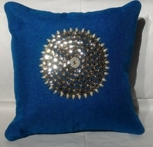 Hand work cushion covers  Size 16*16  Quality :  jute ( sipi hand work on that )  Look : give rich look to your drawing room Set of 5 pieces of same clour Price ₹1150+$