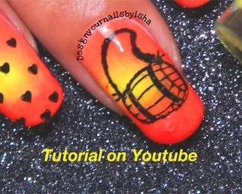 Musical Instrument Nail Art🥁🥁 . Full Tutorial is up on my YouTube channel💕  Direct Link: https://youtu.be/JesGLhT-skQ  Go watch it, show some love 💖 and dont forget to hit the Subscribe button 😌 . #designyournailsbyisha #ishanailart #naildesign #nailvids #nailblogger #nails #nailart #nailswag #nailartjunkie #nailartist #nailstylist #indiannailartist #art #photography #dholnailart #freehandnailart #musicalinstrumentnails #musicnailart #2017nailart #stampingnailart #soroposo #roposonails #roposoblogger  IG:design_your_nails_by_isha😍