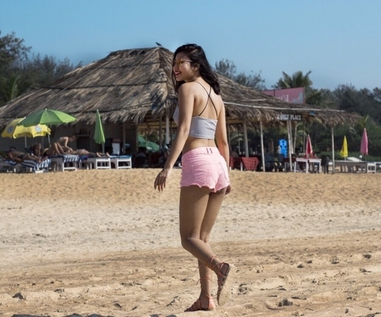 Holiday mode #FashionQuotient #goa #beachstyle #wanderer #fashionblogger