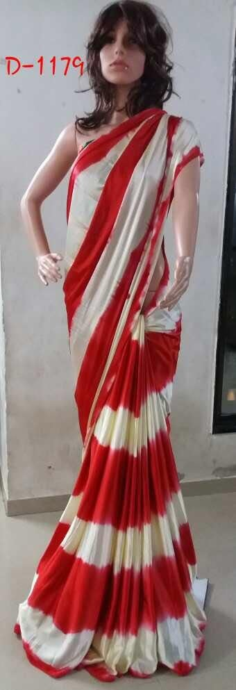 shibori satin sarees. Rs 1100. # fashionable #elegant #stylishwear #partywearsaree# stylish kurtis