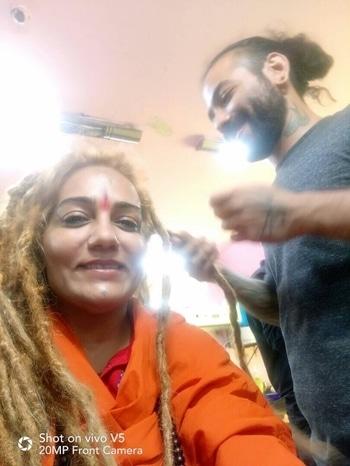 #dreads #dreadlocks #hair #hairstyle  #hairstylist #haircolour #hairdye #hairdo #haircut #longhairdontcare #braid #fashion   #straighthair #longhair  #hairoftheday #hairideas #braidideas #perfectcurls #hairfashion  #coolhair #als #tattoo #studio als #clothes #accessories #bodypiercings #alscurlupanddye #bandra #west #hillrd #india #mumbai #maharashtra