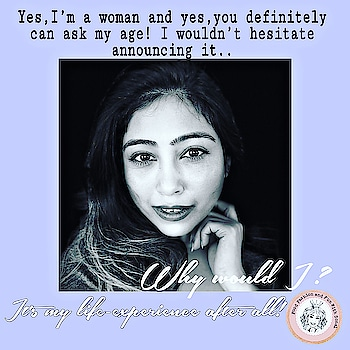 I totally detest some #stereotypical bull** like you shouldn't ask a woman her age urghhh 😣Its high time that we break such #stereotypes and respect women the right way!  #quotes #quotesdaily #quotes❤️ #quoteslover #quoteoftheday✏️ #quoteoftheday #quotestagram #genderequality #change #quotesbyme #breakthestereotype #womenquotes #women #life #ageisjustanumber #loveyourself #gvo #goodvibesonly #nzblogger #aucklandblogger #foodfashionandfunwithsonal #eat #pray #love #live #laugh #stayhappy #stayclassy