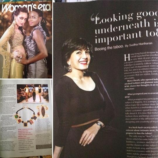#womensera #monashroff #monashroffjewellery #writeup #april2017 #indiaintimatefashionweek2017 #openingshow #mumbai