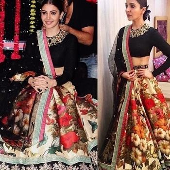 Flower Motif Printed Lehenga Choli Product code - FCRL0083  Available at www.fashionclozet.com  Watsapp - +91 9930777376 Email -  info@fashionclozet.com Or DM for enquiries.  #weddingdress #bride #beautifulldress #designerdresses #designerwear #sharara #lengha #saree #florals #silk #cape #capedress #wedding #indianweddings #bollywood #bridal #indianwear #clothing #asianbride #indianbride #bridalmakeup #fashionclozet #fashionista #mehndi #wine #ramadan #pakistanitrends #eid #offshoulder #palazzo
