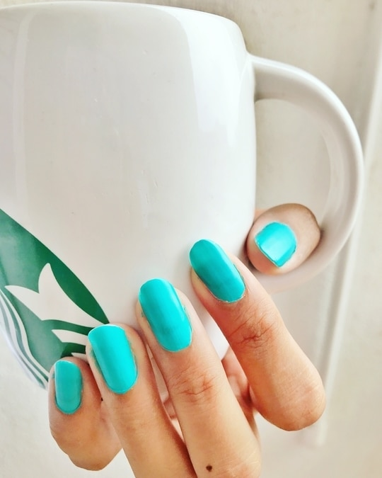 Turquoise blue💕 This was my weekend color... What was yours...😎 .. #indian #rajasthan #pune #fashionblogger #nails #nailtrend #nailstagram #instapic #instamood #instagood #instame #me #cute #indianblogger #blogger #igers #igdaily #fashionista #fashiongirl #girl #weekend #weekendvibes #india #indiangirl #potd #picoftheday #jaipur #love #like #sexy #nailfashion #nails #nailtrends  #stylingtips