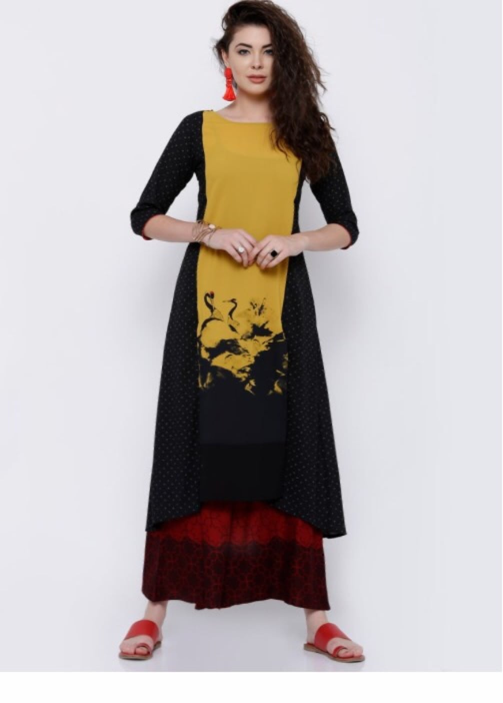 Flat 50% off ₹576 only             #discountedrates #discount  #kurta #kurtisforwomen #kurtionlineshopping #kurtistyles #kurtis designer kurti indowestern kurti new designe kurti summer collection  #indowesternwear