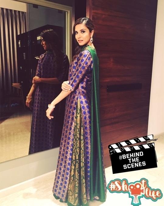 #behindthescenes #shootlife Shooting for new Tvc ! Wearing #payalkhandwala
