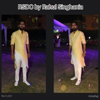 Go Asymmetric by RSDC  Asymmetric royal linen kurta with white cigarette pants . go diffrently @ RSDC  Book your stitch now ⏳  RSDC by Rahul Singhania 7764841700  Royallinen#classy#summertrousseau#matchedsartory#yellowsummercharm#golinenrange