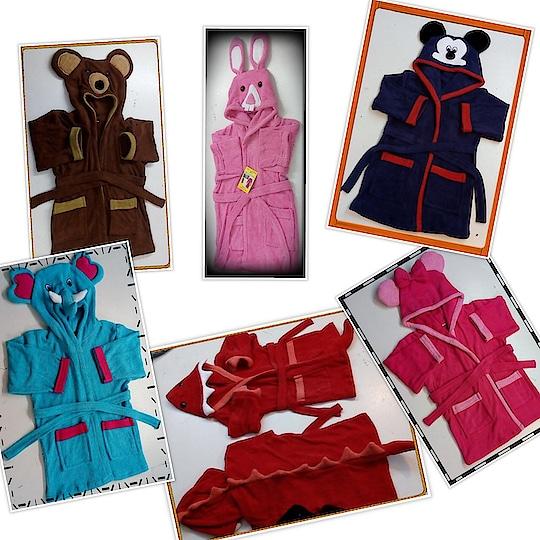 Vbc Kids Bath robe  2 - 6 years 759/-  6 -10 years 799/- Shipping extra Very soft towel quality