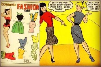 Fashion inspiration from Veronica and Betty.. #archiecomics#veronicaandbetty#comics#fashionworld#fashioninspiration#fashionandstyle#bedifferent#satśiva