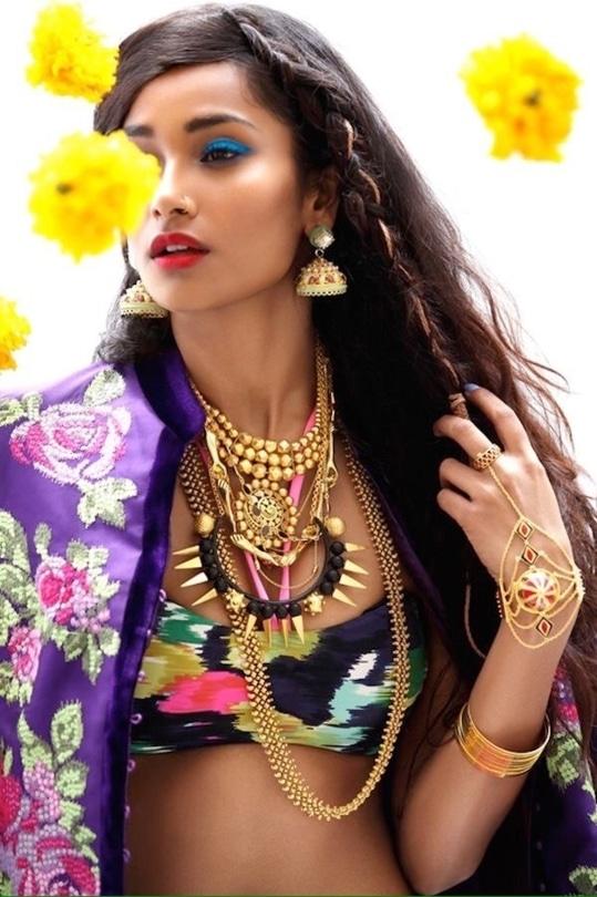 #trendy-gorgeous #longhairbraids #beautifulpieceofwork #makeup and eyes makeup #wavelyhair