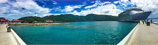 Labadee ... A personal island of  royal Caribbean ... #cruise #cruising #usa #island #travel #life #love #photography #pano