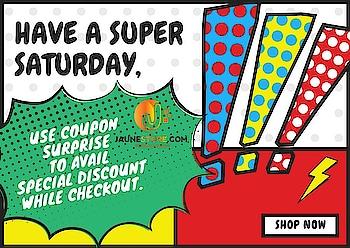 Shop now at www.jaunestore.com #surprise #jaune #jaunestore #sale #discount #coupon #bumpersaturday #saturday #offer #onlineshoppingindia #india #dresses #jumpsuits #leggings #bohotops