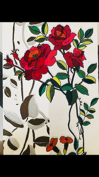 I am a artist at living - my work of art is my life. ———————————————————— #painting #paintbrush #color #colorful #artist #artistsoninstagram #insta #instaartist #instaartistic #instaart #artwork #living #artistic #workofart #workmode #coloroflife #colorofnature #paintingoftheday #paintingflowers #rose #tulip #leaf #colors #👩🎨