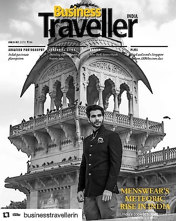 """#Repost @businesstravellerin with @get_repost ・・・ Our premier issue for 2019 carries a special report on the menswear's meteoric rise in India. We also have a special supplement on Yokohama, Japan, wherein we take you on a journey through the city's food culture, highlights, and upcoming events. All this, with the latest from the world of hospitality and aviation, hand-picked for your next """"business and leisure"""" trip. . . . #january #2019 #business #businesstravellerindia #aviation #hospitality #automobile #fashion #lifestyle #luxury #destination #menswear"""