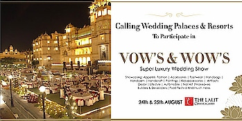 Invitation for Wedding Palaces & Resorts & Wedding Planners  for participation in  @vows_and_wows  A Luxury Wedding Showcase Of Punjab @thelalitchandigarh  DM for details  An initiative by  @amilliondollaraffairevents  #vowsandwows #wedding #destinationwedding #weddingplanner #resort #palace #caterer #decor #lights #sound #stage #thelalithotels #nehaamitsinglaofficial #amilliondollaraffair @nehaamitsinglaofficial