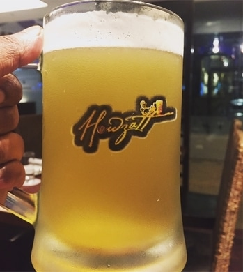 Howzatt is brewing again , first brewery in India which came up with cricket theme . Hmm it's all about cricket .  Quality of the beer and bites - fantastic  Ambience - Awesome Service - excellent  Where - Galaxy hotel Gurgaon  Many cricketers frequently visit and endorse their signatures .