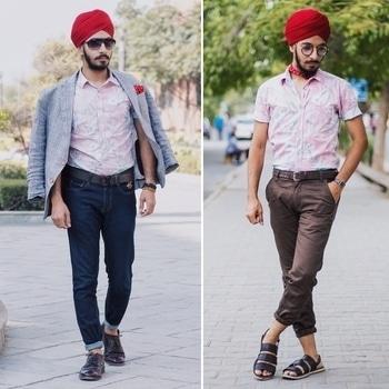 Same shirt, two very different looks .. keeping alive the summer spirit. . . . . . . . . . . . . . #DandysLaboratory #DandyChilling #TakeItSportingly #Coachella #FloralShirt #SportsCoat #Neckerchief #LeatherSandal #Denim #WeAreExploraholic #BloggerHuntertr #ClassyDapper #LetsTalkTrend #OOTD #FashionBlogger #IndianFashionBlogger #DelhiFashionBlogger #Blog #Style #Menswear #Fashion #MensStyle #StreetStyle #MensStreetStyle #MensStyleGuide #Like4Like #OkayBye