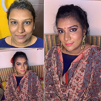 Makeover #professionalmakeup #soroposo #roposotimes #roposomakeupandfashiondiaries #roposoeditorial #roposotimes #imageconsulting #counselling #etiquettexpert