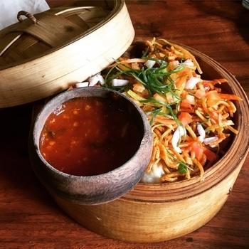 Love the way they serve...! What - momos chat Where -social nehru place  #social #momos #momoschaat #zomato #foodonroposo #roposo #soroposo #roposotalenthunt  #foodforigers #foodporn #foodlover #igfood #foodstagram #fooddiary #foodgasm #foodquotes  #foodtalkindia #foodporn #foodielife #foodie # #likesforlikes #eat #bestintown #love #eatstreet #salsa #delicious #sodelhi 🤗