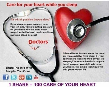 take care of ur heart..
