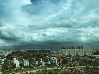 Urban jungle in making #serenewanderer #salesforce111 #salesforce #urbanjungle  #visualsoflife  #rain #shower #Hyderabad #showers #blueskys #motivation #staystrong #motivation #sfdc #movecoach #cloud #monsoon #beautifulday
