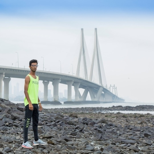 Be fearless in the pursuit of what sets your soul on fire. . . . . . . . #photoshoot #bridge #athlete #photography #nrcmumbai #nike #picoftheday #sports #run #training #sport #crazy #fitness #running #train #fitlife #runner #gohardorgohome #fitfam #goals #photo #beautiful #nrc #dream #clouds #beastmode #stronger #frame #toogood #justdoit