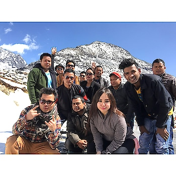 Thanks to all for making this journey beautiful.. I can not forget this trip ever..  #assam #friends #trip #arunachalpradesh #beautiful #journey #2018
