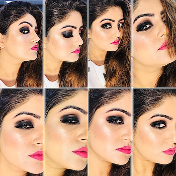 Classic Smokey Eyes 👀 makeup look. dewy. illuminating, lightweight foundation  This will allow the makeup to go on light and smooth with hot pink lips.  ......................................................... @freshlook_in @nyxcosmetics @maccosmetics @mink3dlashes_official @kryolanofficial @chanelofficial @inglot_india @beccacosmetics @makeupforeverofficial @paccosmetic @proarteworld  ...................................................... #classic #smokeyeye #hotpink #dewy #dewymakeup #makeup #makeupartist #makeupartistindia #makeupartistworldwide #makeupcrazy #makeuplover #makeuplife #makeupcrazy #PartyMakeup #NoFilter #WeddingMakeupArtist #ProfessionalMakeupArtist #Artistrymakeup #WeddingMakeupArtist #BestMakeupArtist #makeupartist #makeupartistdelhi #zaynaanjumghazi #forevermakeupacademy&studio #makeupbyzayna👄