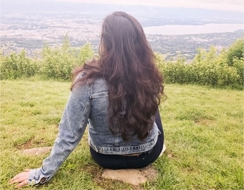 """It is only when you truly lose yourself that you truly find yourself!"" Looking over Switzerland from a French mountain moments before I got lost on a hiking trail and was brought back by some amazing French and Swiss people! Read my complete travel adventure when I got lost in Mont Salève and found hope in humanity via link in bio! 🙌🏻 . . . . . . #hairlove #storytime #hikingadventures #beautifulmatters #beautifuldestinations #blessed #blogueuse #blogger_de #travelogue #travelblog #iamtb #travelinstyle #traveldiary #voyager #globetrotter #montsaleve #l4l #ladyboss  #positivevibes  #travelinspiration #geneva #stylediary #dutchblogger #londonblogger #swissblogger #parisianblogger  #travel"