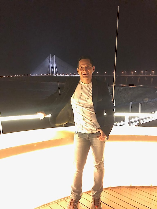 And one more view of the landmark Worli sea link ❤️❤️❤️ From another landmark Ab Celestial 😘😘😘 #pic #worlisealink #abcelestial #abcelestialfloatel #goodlooks #goodvibes #positivevibes #blessed