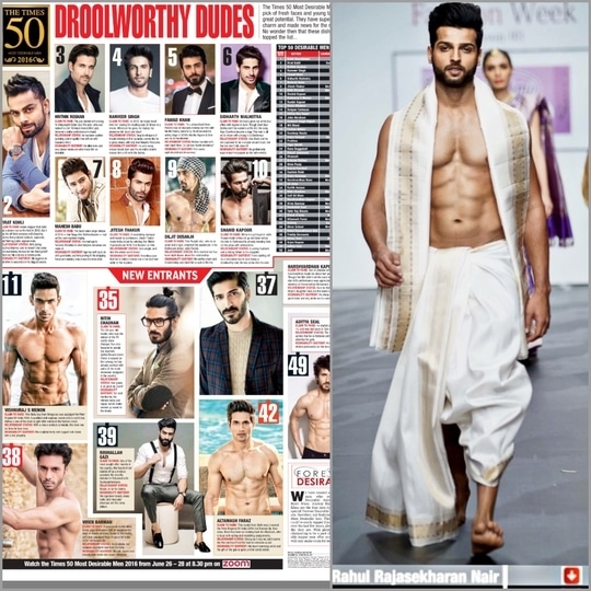 Made it to the 50 most desirable men of India 2016 and I thank each and one for all the love, support and motivation . Have a great week people :) #mensstyle #photography  #fashionphotography #mrindia #mostdesirable #runwaymodel #rahulrajasekharan