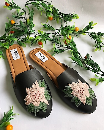 Featuring #black vegan #leather slip ons by Sole House adorned with #pink #embroidered cherry #flower: https://www.indiancultr.com/designers/sole-house?p=2 #handmade #handcrafted #India #makeinindia #love #beautiful #footwear #new #neednow #want #onlineshopping #instagood #instalove #instadaily #photooftheday #wow #amazing #designer #traditional #wedding #comfort