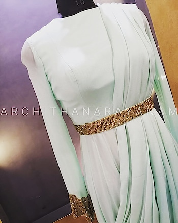 ~Thalassa ~ ~gowns ~ ~Beauty with simplicity ~ #archithanarayanamofficial #couture #designerlife #designer wear #customised #outfits #perfect #fit #classy #mintgreen #embroidery #handmade #embroidery #shippingworldwide #instafashion #instalove #outfitoftheday