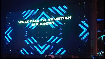 N that's how Venetian welcomes me ❤️❤️❤️ Feeling like a VIP LOL 😆😆😆😘😘😘 Loved the place n the ambience n the sound system rocks 👍👍👍 VVIP club changed to Venetian n it's rocking n how 😍😍😍 #venetian #parties #grandwelcome #feelingimportant #viptreatment #lovedit #blessed