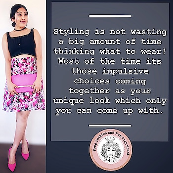 #Styling is an art; and one is born with it.. just like other arts! ❣️#stylingtip #styleisanextensionofyou #fashiontips #styleideas #styleiswhat #stylist #fashionquotes #fashionblogger #fashionistas #styling #stylingtips #shoppers #fashionaddict #creativity #thrifting  #thriftedfashion #thriftyideas #styleblogger #tips #foodfashionandfunwithsonal #instapic #instalike #instalove #aucklandblogger #nzblogger #eatpraylove  #stayhappy #stayclassy