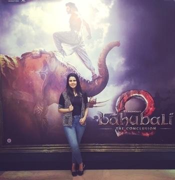 👏👏👏most awaited film #bahubali2 #parulsharma