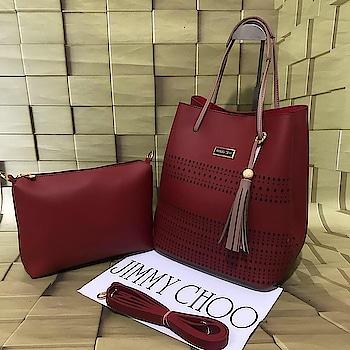 2pc HANDBAG #handbag #affordablefashion #watch #homedecore #homeessentials #sunglasses #onlineshop #fashion #SHOPOHOLIC .                                  DM ON 9833735781 to place an order.  HURRY LIMITED STOCK