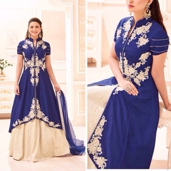 Blue Banglori Silk Anarkali Suit  Product code - FCL513 Available at www.fashionclozet.com  Watsapp - +91 9930777376 Email -  info@fashionclozet.com Or DM for enquiries.  #bridetobe #bridetips #fashionclozet #bride #bridalfashion #weddingtrends #fashion #weddingplanning #weddingreception #weddinglook #weddinglove #bridalhairstyle #bridalhairstylist #hairstylist #celebrityhairstylist #mua #bridalmua #celebritymua #brideandgroom #dulhan #dulhanfashion #nikah #anandkaraj #dreamcometrue #weddingphotography #fashionista #capedress #indianbride