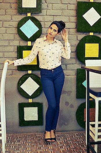 happy Sunday #goodvibes #ropo-style #delhifashionblogger #jaipurbloggers #fashionquotient #bloggersofinstagram