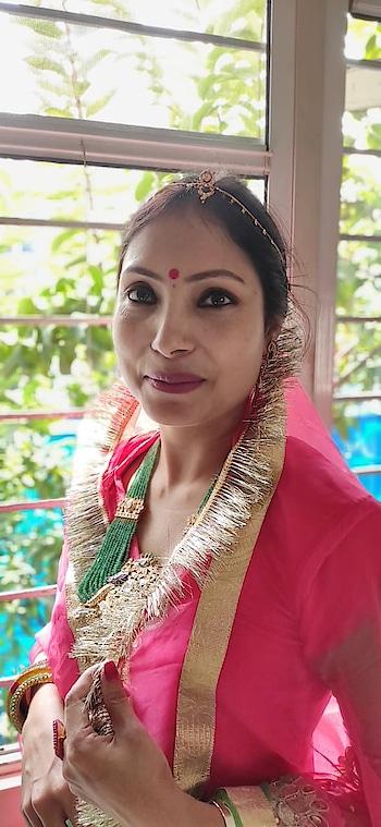#traditionalwear #traditionaljewellery #india #bindi #fashionista #sudhajain #fashionblogger