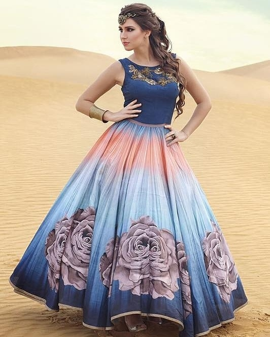 Get this Very Stylist 💕 Beautiful #BridalGown 💞 for Upcoming Function Now Just for ₹ @2750/- INR Only  For Place the Order, Call or DM or Whatsapp: +91 8866570406 Cash On Delivery Available In India ! Worldwide Shipping ! ✈ Book Now !